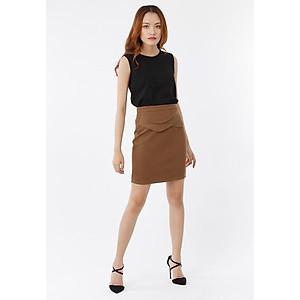 Hình đại diện sản phẩm Set áo lai phối ren + chân váy phối lưng vạt xéo