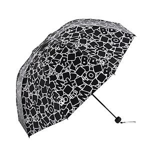 Hình đại diện sản phẩm Paradise umbrella small box sunny umbrella folding tide section creative umbrella box password 1 vinyl sunscreen sun umbrella UV sun umbrella