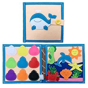 Hình đại diện sản phẩm Sách Vải Đại Dương - Dành Cho Bé Từ 1-6 Tuổi