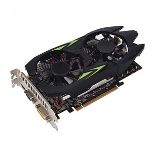 Hình đại diện sản phẩm GTX1050Ti Video Graphics Card Premium Gaming Computer Game Graphics Card 128bit DDR5 Cooler PC Accessories Video Games