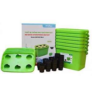 Hình đại diện sản phẩm Combo: Cây lau nhà Ánh Dương AD2077 và Thiết bị trồng rau sạch thủy canh BKFast Bio