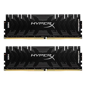 Hình đại diện sản phẩm Hyperx Kingston Technology Predator Black 16Gb(Kit Of 2) Ddr4 3000Mhz Ram Gaming Memory Cl15 1.35V Dimm (288-Pin) Xmp