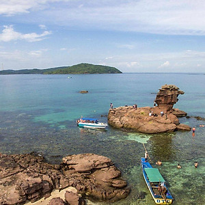 Hình đại diện sản phẩm Tour 3 Đảo Phú Quốc: Hòn Móng Tay - Hòn Dăm Ngang - Hòn Mây Rút, Câu Cá & Lặn Ngắm San Hô, Đi Về Trong Ngày