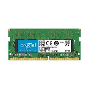 Hình đại diện sản phẩm Ram laptop Crucial DDR4 4GB (1x4GB) Bus 2666Mhz SODIMM CT4G4SFS8266 - Hàng Chính Hãng