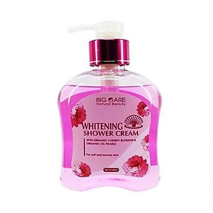 Hình đại diện sản phẩm Sữa Tắm Dưỡng Da Whitening Shower Cream With Organic Cherry Blossom and Organic Oil Pearls 300ml