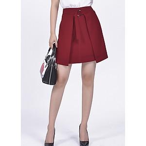 Hình đại diện sản phẩm Chân Váy Nữ Rosy Belle CV562 - Đỏ Mận