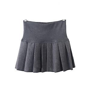 Hình đại diện sản phẩm Chân váy dạ xòe xếp ly CV05X