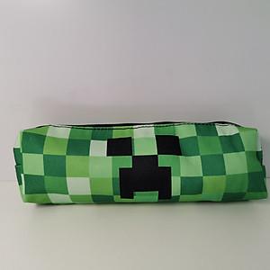 Hộp bút vải hình Minecraft Cosplay anime Pencil Bag