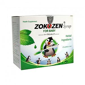 Hình đại diện sản phẩm Thực phẩm chức năng Thảo dược trị ho cho trẻ em ZOKOZEN SYRUP FOR BABY