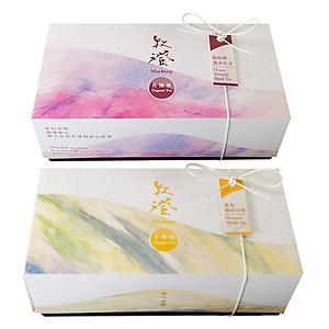 Hình đại diện sản phẩm Combo 2 Hộp Trà Đen Hương Mật Ong Organic Honey Scented Black Tea + Trà Trắng Organic Shoumei White Tea Mucheng Taiwan