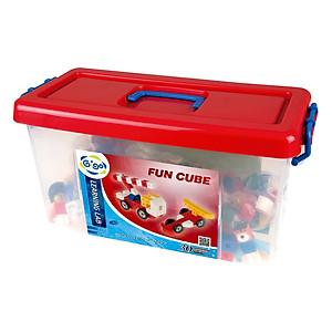 Đồ Chơi Dạy Học Gigo Toys Miếng Ghép Creative World - Fun Cube 1233 (416 Mảnh Ghép)