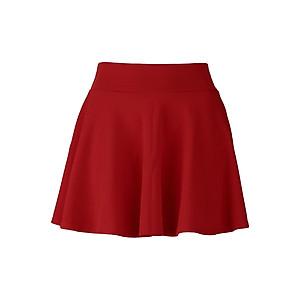 Hình đại diện sản phẩm Chân Váy Ngắn Dáng Xòe - Đỏ