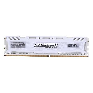 Hình đại diện sản phẩm Crucial Ballistix Sport LT DDR4 Memory 8GB 2400MHz MT/s CL16 1.2V PC4-19200 UDIMM 288-pin for Desktop BLS8G4D240FSC