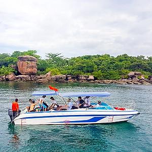 Hình đại diện sản phẩm [Phú Quốc] Tour 4 Đảo Bằng Cano 01 Ngày: Hòn Móng Tay, Hòn Gầm Ghì, Hòn Mây Rút, Hòn Thơm