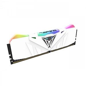 Hình đại diện sản phẩm Bộ 2 thanh RAM Patriot Viper RGB 16GB (2x8GB) DDR4 3200 CL15 – WHITE heat sink