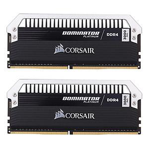 Hình đại diện sản phẩm Corsair Dominator Platinum Series 16Gb (2 X 8Gb) Ddr4 Dram 3000Mhz C15 288-Pin Memory Kit Cmd16Gx4M2B3000C15