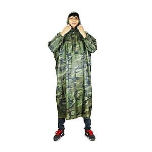 Hình đại diện sản phẩm Áo mưa bít không xẻ tà vải dù lính cao cấp 1m4