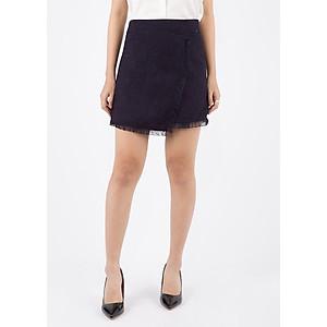 Hình đại diện sản phẩm Chân Váy Nữ Vạt Lệch Tua Rua De Leah