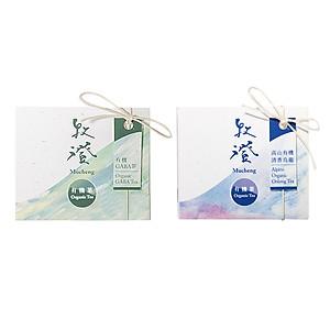 Hình đại diện sản phẩm Combo Hai Hộp Trà Organic GABA Tea 50g + Trà Alpine Organic Oolong Tea 50g Mucheng Taiwan