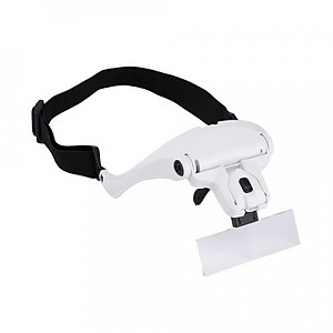 Hình đại diện sản phẩm Kính lúp đeo mắt đọc sách, sửa chữa phóng đại 1,0 lần 1,5 lần 2,0 lần 2,5 lần 3,5 lần