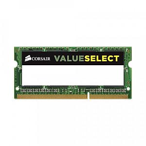 Hình đại diện sản phẩm Ram laptop Corsair Value Select DDR3L 8GB (1x8GB) Bus 1600Mhz SODIMM 1.35v CMSO8GX3M1C1600C11 - Hàng Chính Hãng