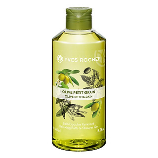 Gel Tắm Yves Rocher Relaxing Bath And Shower Gel Olive Lemongrass Y118576 (400ml)