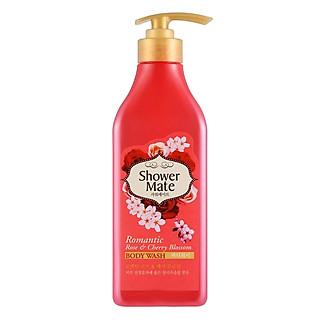 Sữa Tắm Showermate Rose & Cherry Blossom 550ml - Hồng