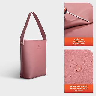 Túi đeo chéo nữ YUUMY YN80, 4 ngăn, vừa điện thoại IPHONE 11, túi có quai xách, phù hợp đi chơi, đi làm, đi tiệc, da tổng hợp cao cấp , không bong tróc, không thấm nước, bảo hành 1 năm (Dài 21cm x Rộng 9.5cm x Cao 25cm)