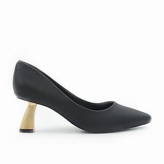 Giày Pixie Mũi Nhọn Gót Xéo 5P P340