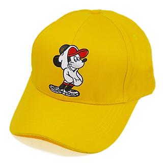 Mũ lưỡi trai nữ thêu hình chuột Mickey dễ thương, khóa gài cứng cáp, chất liệu vải bền đẹp - Hạnh Dương