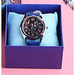 đồng hồ 3 kim cho bé mẫu nhân vật hoạt hình cực xinh
