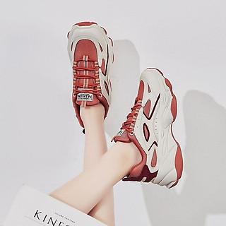 Giày Thể Thao Nữ [ HOT TREND ] Giày Nữ Ulzzang Pha Màu Cá Tính Tăng Chiều Cao - G01