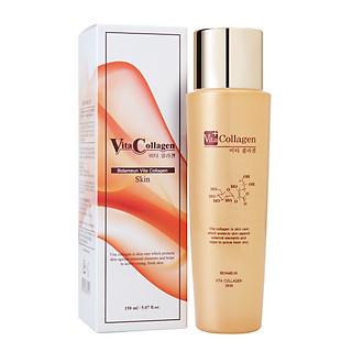 BIDAMEUN - Nước hoa hồng Vita-collagen giúp giảm nhăn & săn chắc da - 150ml
