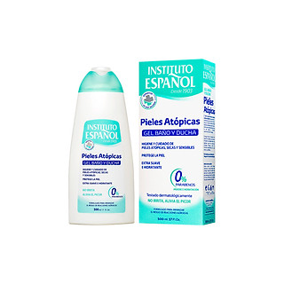 Gel tắm cho da khô và da nhạy cảm Instituto Español Atopic Skin Bath And Shower Gel 500ml