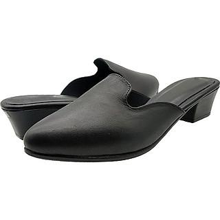 Giày Sục Nữ Da Bò Thật Mềm Bền 3P2916