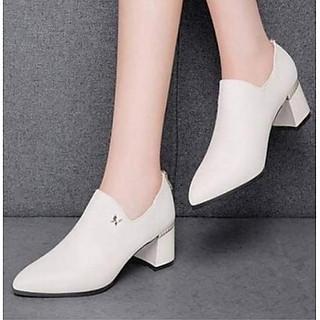 Giày Boot cổ ngắn Hàn Quốc G1410