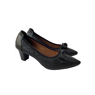 Giày Cao Gót Nữ Công Sở Da Bò BIGGBEN GCG6