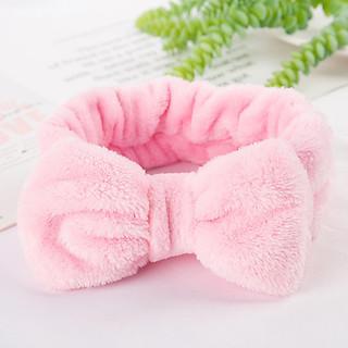Băng đô cài tóc nữ rửa mặt trang điểm hình nơ dễ thương BD15