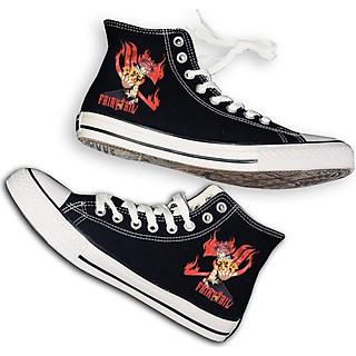 Giày Fairy Tail cổ cao thời trang phong cách anime manga