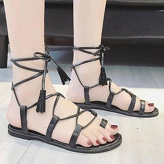 Giày Sandal Nữ Cột Dây Q861 (Size 40)