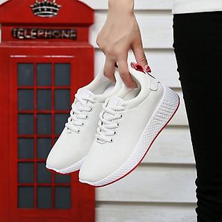 Giày Thể Thao Nữ Cổ Thấp Phong Cách Trẻ Trung Chât Liệu Vải Sợi Khử Mùi Đế Giày Dễ Dàng Kết Hợp Với Nhiều Trang Phục Nhiều Màu Và Nhiều Size Lựa Chọn