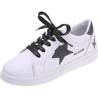 Hot trend ánh kim sành điệu Giầy nữ sneaker mẫu mới MS01