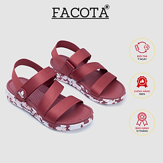 Giày sandal nữ Facota V1 Sport HA11 sandal quai chéo - sandal quai dù