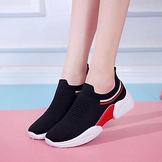 Giày thể thao SNEAKER cổ chun, kiểu dáng siêu đẹp cho nữ - SB75