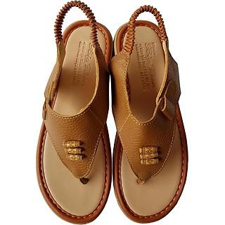 Giày Sandal Xỏ Ngón  Nữ BIGGBEN Da Bò Thật SDN40