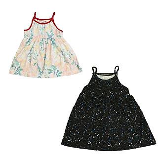 Combo 2-3-5 váy 2 dây cho bé từ 1-5 tuổi (8-25kg) - Giao mầu ngẫu nhiên