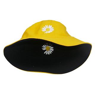 Mũ bucket hoa cúc họa mi hot trend đội được 2 mặt với 2 màu khác nhau độc đáo, vải cotton mềm mại bền đẹp - Hạnh Dương