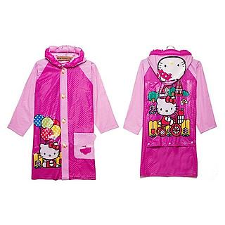 Ắo mưa thơi trang phong cách hoạt hình cho bé