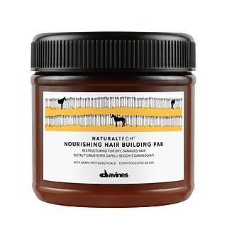 Kem ủ tóc Davines Nourishing Hair Building Pak cấp dưỡng phục hồi cấu trúc tóc 250ml