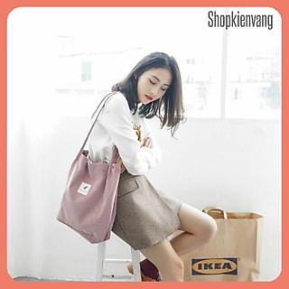 Túi Tote nhung đeo vai Style Hàn Quốc